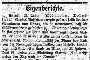 Der Tiroler, Nr. 37,38, Jg. 33, 28. März 1914, S. 3.