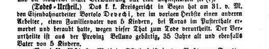 Innsbrucker Nachrichten, Nr. 29, 6. Februar 1872, S. 305