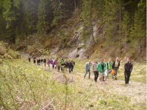 40 Studenten am Mühlenweg