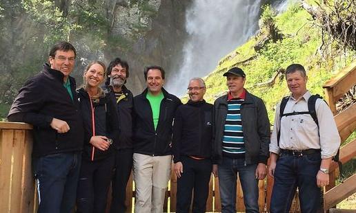 Celar Wasserfall Schaupfad